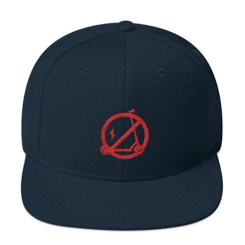 Electric Scooter Free Dark Navy Hat