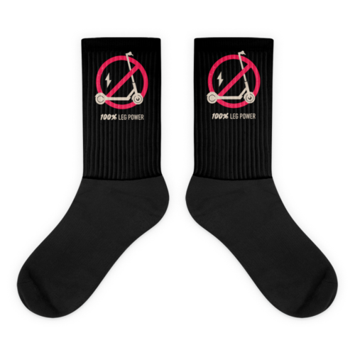 Black 100% Leg Power Socks
